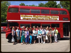 Sponsored a Sightseeing Tour Bus