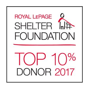 shelter foundation donor 2017