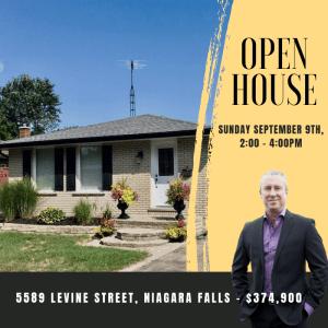 Open House at 5589 Levine Street, Niagara Falls
