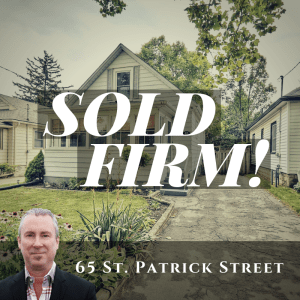 65 St. Patrick Street is sold firm