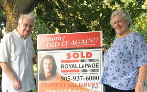 Seller - Don and Marilyn Brock